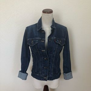 Levi's Ted Tab Distressed Denim Jacket
